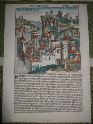 1493L-SCHEDEL,VIEW,ENGLAND[ANGLIE]BRITAIN,UNITED KINGDOM,LONDON,BIRMINGHAM,LEEDS
