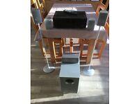 Yamaha Rx V375 AV receiver and Canton Movie CD 1 5.1 surround sound speakers
