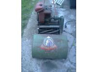 vintage petrol lawnmower(suffolk punch)