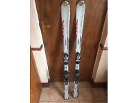 Firebird Blizzard XO3 Skis size 151, with Salomon poles