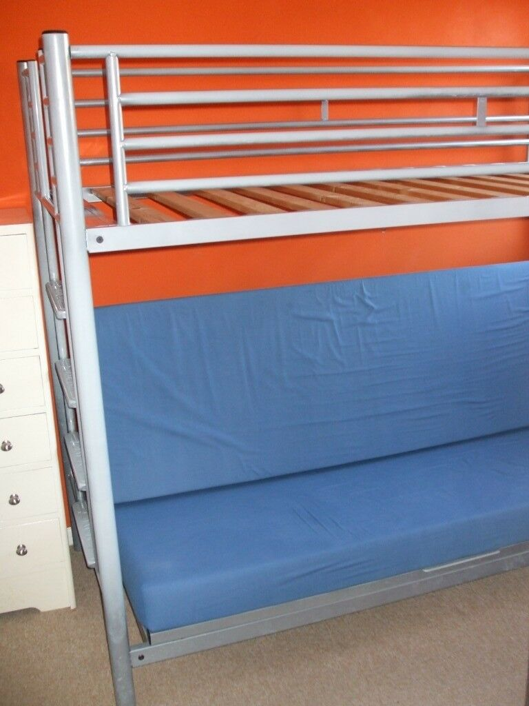 Jay Be High Sleeper Bed With Sofa Futon