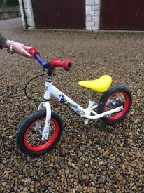 Childs balance bike.