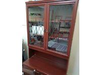 Mohogany display unit