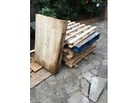 Wooden Pallets x 6 **Free**