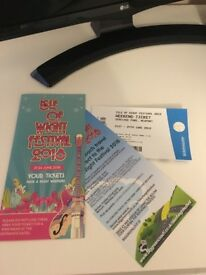 1 Isle of Wight weekend camping ticket!!