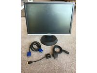 """22"""" Viewsonic VA2216w LCD Computer Monitor/television (HDMI adapter included)"""