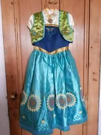 Disney Store Frozen Fever Anna costume