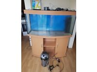 juwel vision 260 litre fish tank and stand