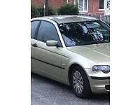 BMW 316ti 2002 plate
