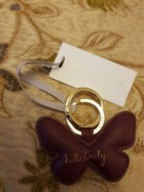 Katie Loxton butterfly keyring