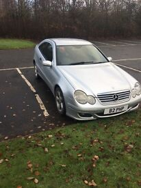 Mercedes c220 CDI, 06 plate, silver 4 new tyres