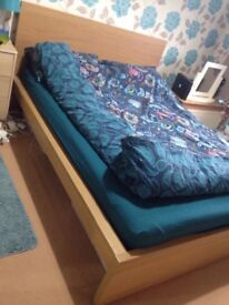 King size bed including mattress
