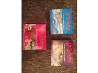 Harry Potter audio books x3