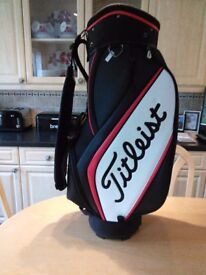 Titleist golf carry or cart bag £85