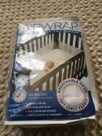 Airwrap Cot Bumper (for cots without solid ends)