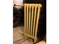 "Vintage Cast Iron Radiator 33x12"""