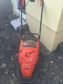 Flymo electric lawnmower