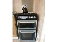 Cannon OVEN 4 Gas Burner Hob Double Conventional Oven With Grill £100 Collect From North Shields