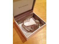 Sterling Silver Flourish Cuff by Kit Heath