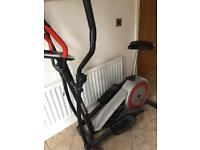 York fitness aspire cross trainer with bike