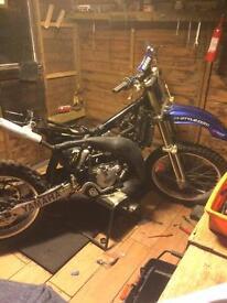 Vintage mx bike