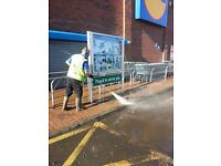 Professional power washing Service, commercial and domestic power washing of most hard surfaces