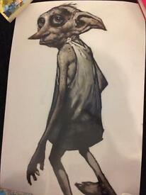 Harry Potter dobby poster