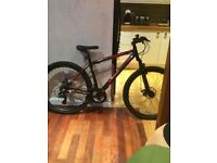 Carrera kraken+barracuda draco3 mountain bikes for sale