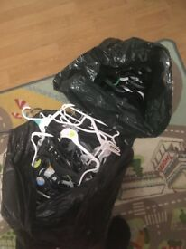 Assorted children's hangers