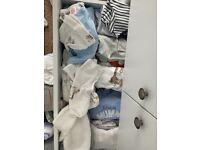 Bundle of baby clothes