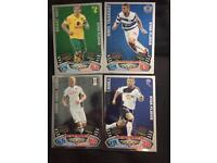 2011/2012 match attax star player/ star signing cards