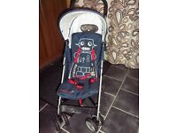 Cosatto Buggy with raincover and footmuff