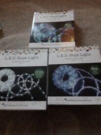 New led christmas rope lights