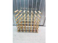 Three Fantastic 36 Bottle Wine Racks - Sold Separately or Together