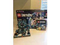 Lego dimensions PS3 excellent condition lots of extras
