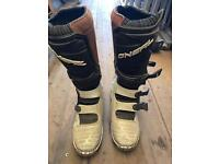 O'neal motocross boots