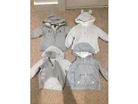Baby jackets zippers cardigans spring/summer jacket