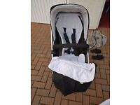 Mamas and Papas Sola Pushchair / Pram / Buggy and Carrycot