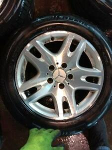 MERCEDES E 320 MAGS WITH SUMMER TYRES 225/55 R16