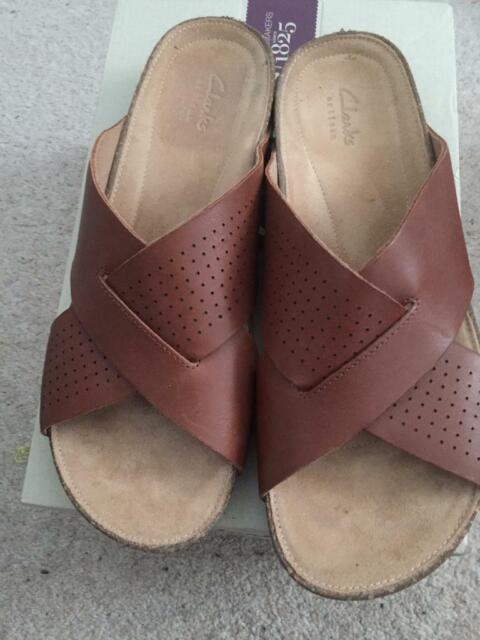 3f261eced4955 Perri cove dark tan sandals uk size 7