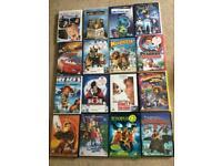 16 x kids/family/Disney DVD's