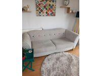 3 Seater Sofa (DFS) Grey