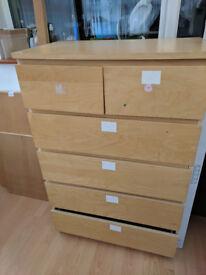 Ikea MALM (6) £15