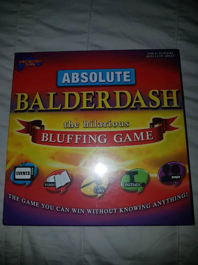 Absolute Balderdash Game