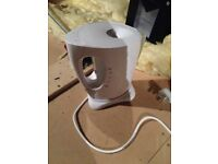 White and Silver Kettle New unused.