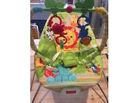 Rainforest Baby Bouncer. Good condition, only used for 4 months.
