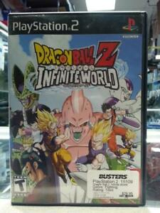PS2 - Dragonball Z: Infinite World. (#10197)