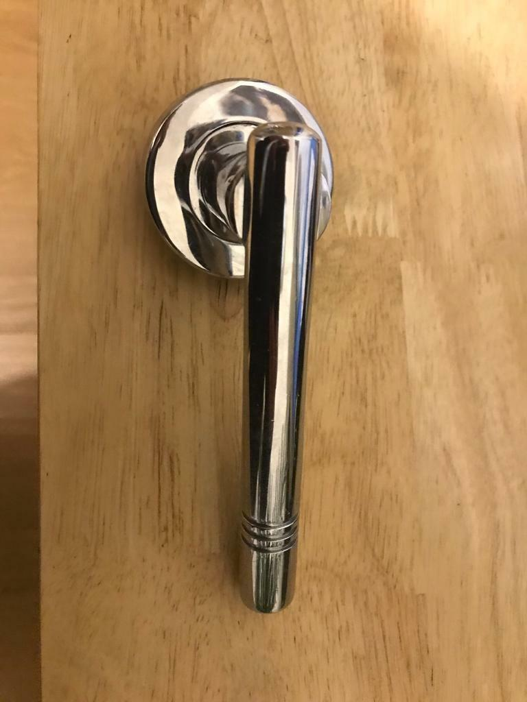 9 x Chrome Door Handles