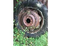 Massey Ferguson 65 rear wheel