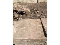 10 paving slabs for sale ��2 a slab or ��10 for the lot